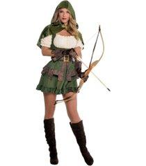 amscan robin hoodie adult women's costume