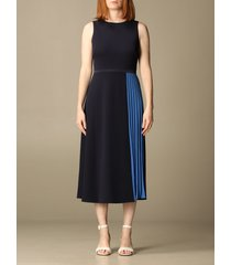 lauren ralph lauren dress lauren ralph lauren midi dress with pleated panels