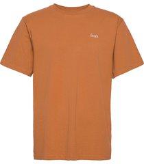 air t-shirt t-shirts short-sleeved orange forét