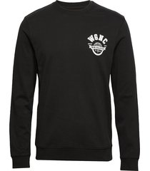 ls globe tee black sweat-shirt tröja svart wrangler