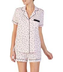 women's kate spade new york short pajamas, size x-large - pink