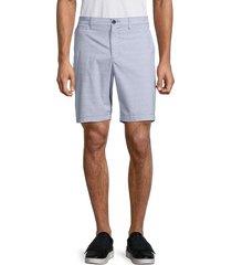 original penguin men's regular-fit straight shorts - dark denim - size 38