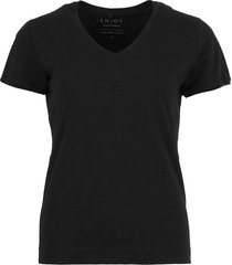 basic t-shirt zwart