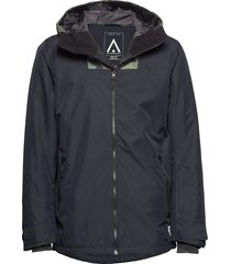 block jacket outerwear sport jackets svart wearcolour
