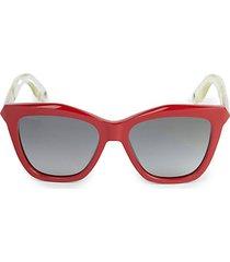 53mm acetate cat eye sunglasses