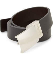 homer faux leather belt