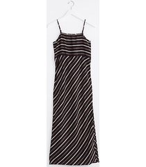 lou & grey lou & grey striped strappy linen maxi dress