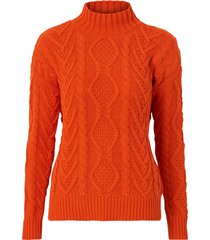 tröja sweater ls mock neck