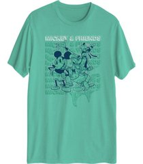 hybrid men's mickey friends t-shirt