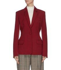 'loa' panelled colourblock twill blazer