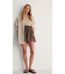 na-kd shorts - brown