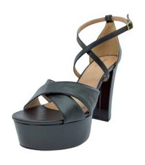 sandalia verniz meia pata tamanhos especiais dani k preto