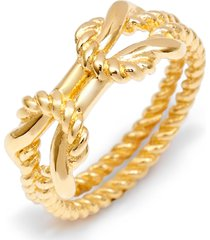 brook and york sydney rope ring, size 8 in gold at nordstrom