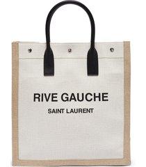 'noe rive gauche n/s' logo tote bag
