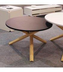 kolorowy, okrągły stolik kawowy triple