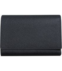 buxton women's medium size leather wallet