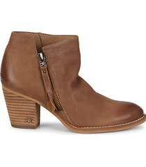 macon leather booties