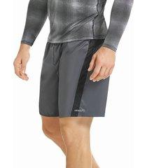 pantaloneta deportiva larga hawai para hombre-gris
