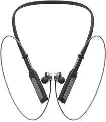audifonos bluetooth deportivo neckband con cancelación de ruido -negro