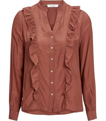 volangblus florence frill shirt