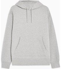 mens grey overhead hoodie