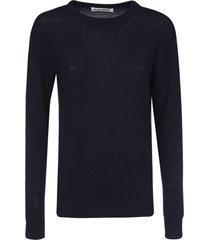 jil sander classic knit sweater