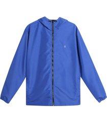 chaqueta antifluido hombre azul rey