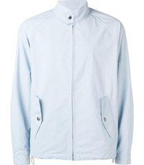 mackintosh oversized bomber jacket - blue