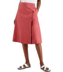 alfani petite flared skirt, created for macy's