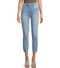 joe's jeans women's irwindale high-rise straight-fit jeans - blue - size 27 (4)