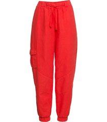 pantaloni in lino (rosso) - rainbow