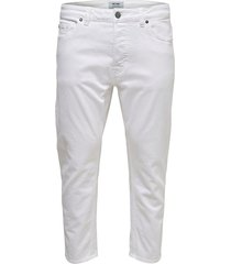 tapered jeans cropped fit