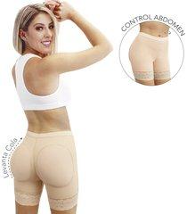 faja panty moldeador uso diario ,levanta cola-control abdomen -color beige