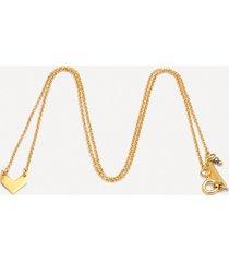 naszyjnik geometry nano złocony z pagonem