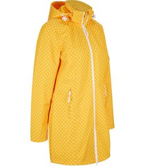 giacca lunga in softshell elasticizzato (arancione) - bpc bonprix collection