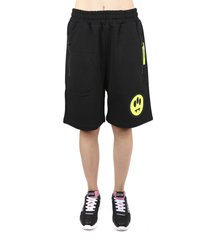 barrow cotton fleece shorts with patch