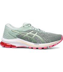 gt-1000 10 shoes sport shoes running shoes grön asics