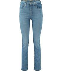jeans 724 high rise straight blauw