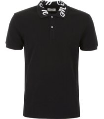 alexander mcqueen polo shirt with logo embroidery