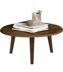 mesa de centro móveis bechara brilhante madeira rústica