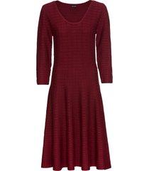 abito in maglia a righe (rosso) - bodyflirt