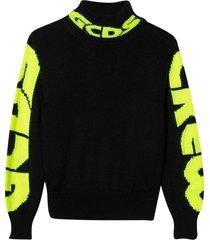 gcds mini black sweater