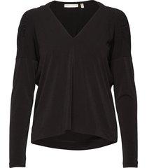emersoniw blouse blouse lange mouwen zwart inwear
