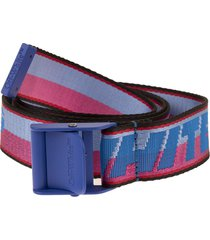blue new logo industrial woman belt