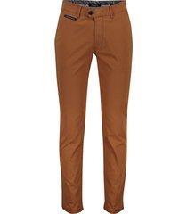 pantalon gardeur benny oranje flatfront