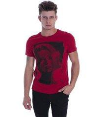 t-shirt osmoze ethos 005 12657 4 vermelho - vermelho - pp - masculino