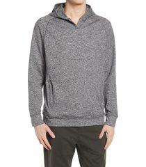 men's public rec politan performance hoodie, size xx-large - black