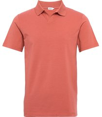 m. lycra polo t-shirt polos short-sleeved rosa filippa k