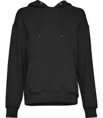moss copenhagen 15639 ima logo hood sweatshirt