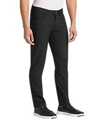 joe joseph abboud repreve® jet black slim fit casual pants